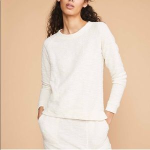 NEW Lou & Grey Tweedknit Sweatshirt